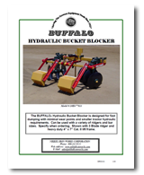Hydraulic Bucket Blocker