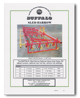 Buffalo Sled Harrow