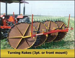 Turning Rakes
